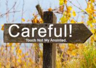 Non toccate i miei unti...