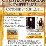 """7-8 OTTOBRE 2011 CONFERENZA MUSICISTI CRISTIANI:  """"UNITI NELL'ADORAZIONE"""""""