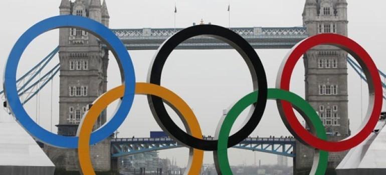 Londra 2012: Un'atleta che corre per onorare Dio