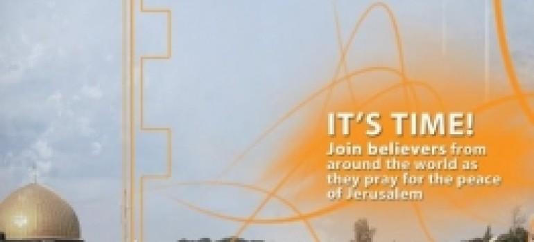 """Domenica 7 Ottobre –  Giornata di preghiera per Gerusalemme. Per essere la """"più grande iniziativa di preghiera della storia""""."""