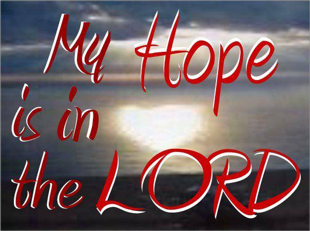 Meditazione del giorno: La fonte della nostra speranza