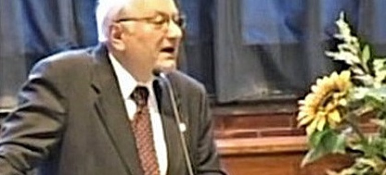 Il Pastore Giuseppe Laiso è stato promosso alla Gloria